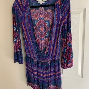 American Eagle Patterned Romper